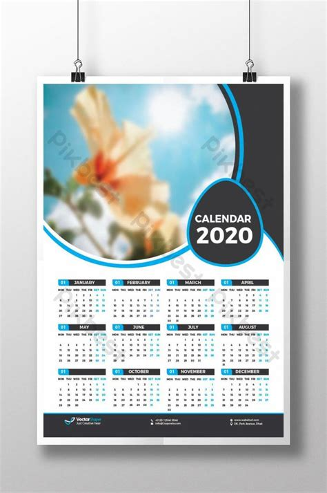page calendar  template design template ai   pikbest