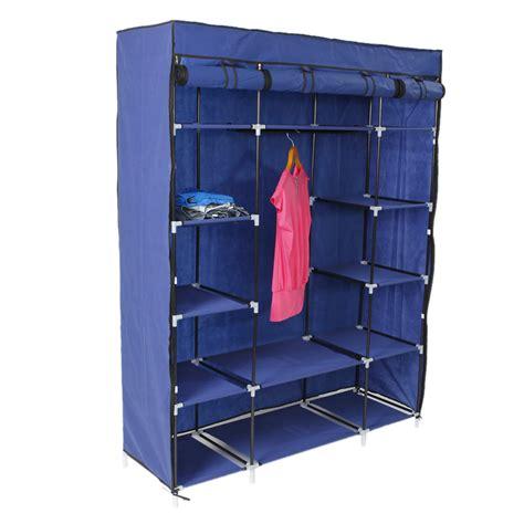 portable closet with shelves 53 quot portable closet wardrobe clothes rack storage organizer w shelf shelves ebay