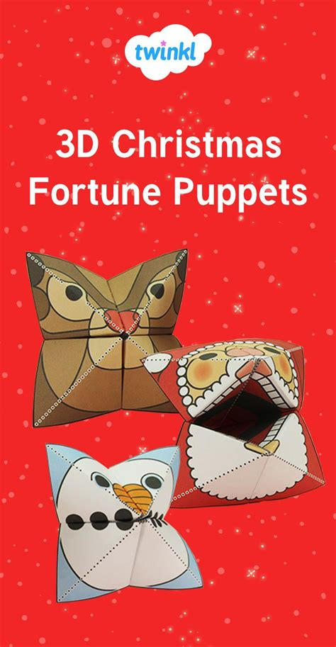 Fortune Teller Paper Craft - 17 best images about on eyfs