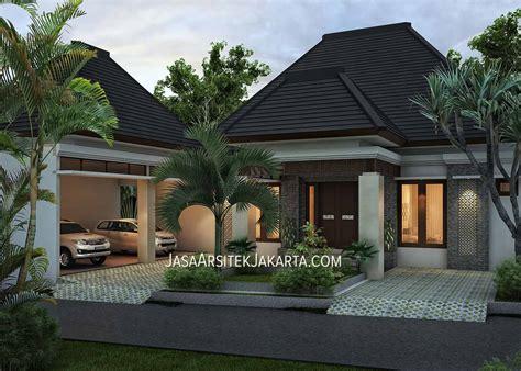 Desain Rumah 4 Kamar Luas 330 M2 Jasa Arsitek Jakarta | desain rumah 4 kamar luas 330 m2 bp nurdin jasa arsitek