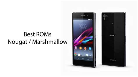 best rom 14 roms best android custom roms for xperia z1 android