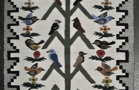 navajo tree of rug 110930 12 navajo tree of rug by mae begay bird pictorial