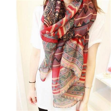 Pretty Scarves For by New Fashion Trendy Bohemian S Print Scarf Wrap