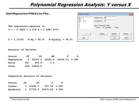 calculator quadratic regression fitting polynomial data