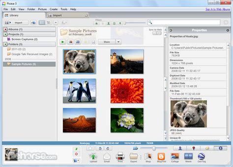 picasa  build    windows filehorsecom