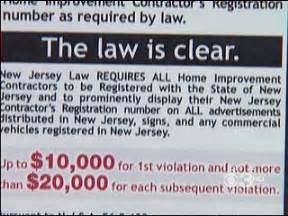 nj cites 26 home improvement contractors seeks penalties