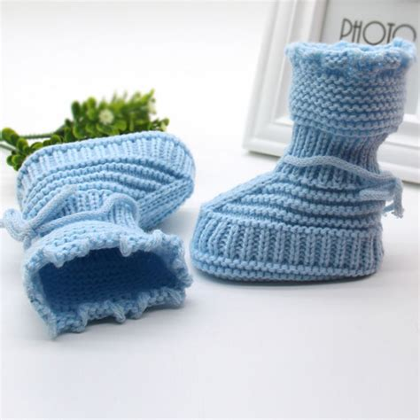 Handmade Toddler Shoes - handmade toddler baby infant boys crochet knit
