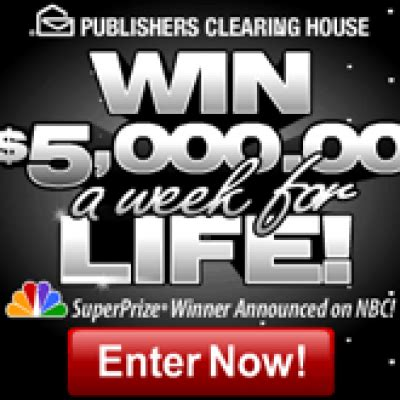 Winner Of 5000 A Week For Life From Pch - pch win 5000 a week for life oh yes it s free