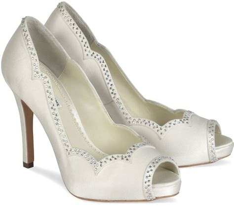 Hochzeitsschuhe Ivory by Bridal Shoes Low Heel 2015 Flats Wedges Pics In Pakistan