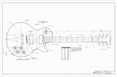 les paul routing template amazing cnc guitar templates pictures inspiration resume