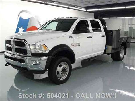 ram 5500 bed dodge ram 5500 crew cab diesel dually flat bed 2015
