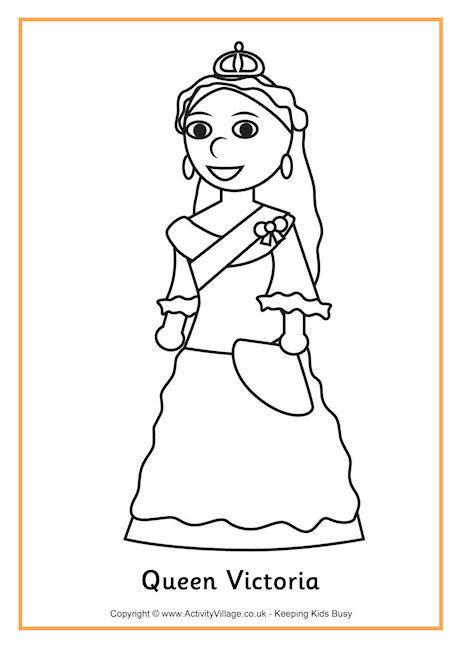 coloring pages queen victoria queen victoria colouring page history coloring sheets
