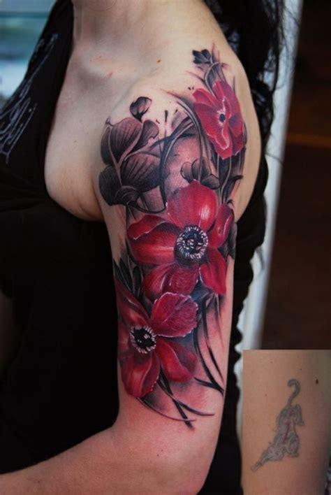 100 herrliche blumen tattoo entw 252 rfe f 252 r ihre eigene