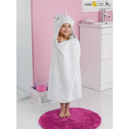 kids hooded bath towel unicorn bathroom towels bampm