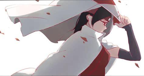 Being Luckyand Sarada by Character Analysis Sarada Uchiha Amino