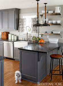 Charcoal Painted Kitchen Cabinets Great Ideas For Gray Kitchen Cabinets Postcards From The Ridge
