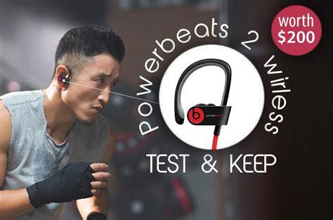 Headset Powerbeats how you can get a free powerbeats 2 wireless in ear headphones
