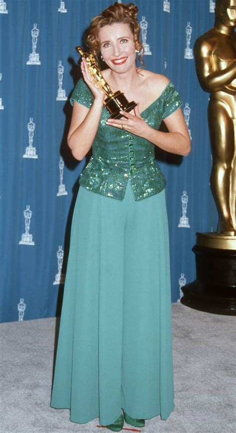 Emma Thompson from 50 Years of Oscar Dresses: Best Actress