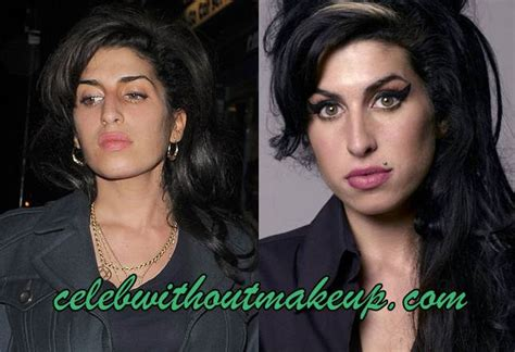 Winehouse Somehow Looks Better Not Done Up by Winehouse No Makeup Without Makeup
