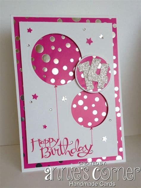 Handcrafted Birthday Cards - beautiful handmade birthday cards for