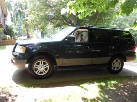 Expedition E6674 Black Leather Green sell used 2003 ford expedition xlt 4wd 4 6l leather great condition in travelers rest south