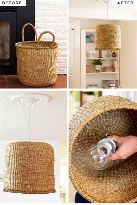 simple diy home decor ideas simple diy kitchen decoration ideas 9 diy basket pendant