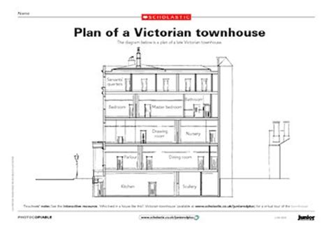 victorian townhouse floor plan plan of a victorian townhouse free primary ks2 teaching