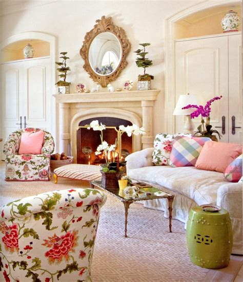 floral living room furniture flowers in modern interior design betterimprovement com