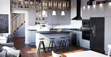 ikea kitchen catalog elegant modern kitchen from the ikea catalog decoist