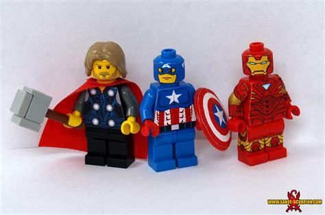 Tas Iron Captain America Marvel Costom Modif Army Balap Racing custom lego moc gallery saber scorpion s lair custom lego minifigs stickers weapons