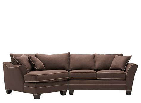 2pc sectional sofa foresthill 2 pc microfiber sectional sofa sectional