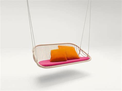 swing seat design wooden garden swing seat swing by paola lenti design