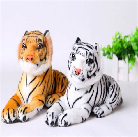 Baby Gifts For Tiger And Kevin by 1pc 26cm Plush White Snow Tiger Toys Stuffed Dolls