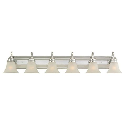 Bathroom Light Fixture Center Sea Gull Lighting 44855 05 Chrome Gladstone 6 Light