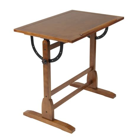 Drafting Table Supplies Studio Designs 36 Quot Vintage Drafting Table Color Rustic Oak 13304