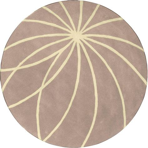 Artistic Weavers Aisha Safari Tan 9 Ft 9 In Round Area 9 Ft Rug