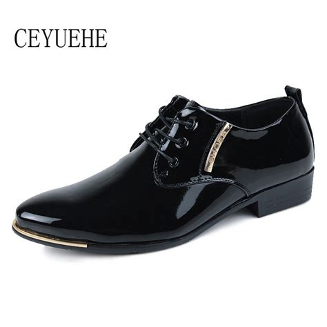 formal shoes flat black dress shoes patent leather