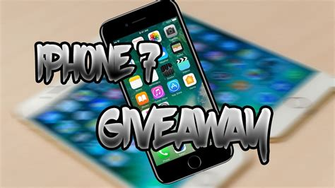 Iphone 7 Giveaway 2017 - two brand new iphone 7 giveaway 2017 youtube