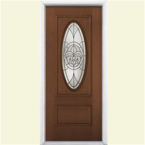 Fleur De Lis Front Door Masonite 36 In X 80 In Fleur De Lis 3 4 Oval Lite