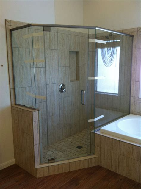 Framelss Shower Doors Semi Frameless Shower Doors Roselawnlutheran