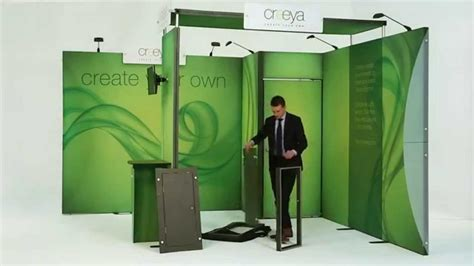how to up a how to set up creeya exhibition stand for trade shows