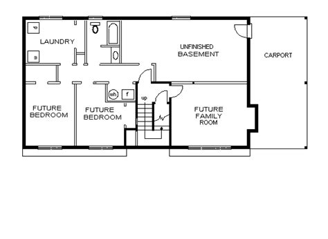 rectangular ranch house plans rectangle house plans alternate floor plan 2235 brookdale alternate floor plan 1 ranch
