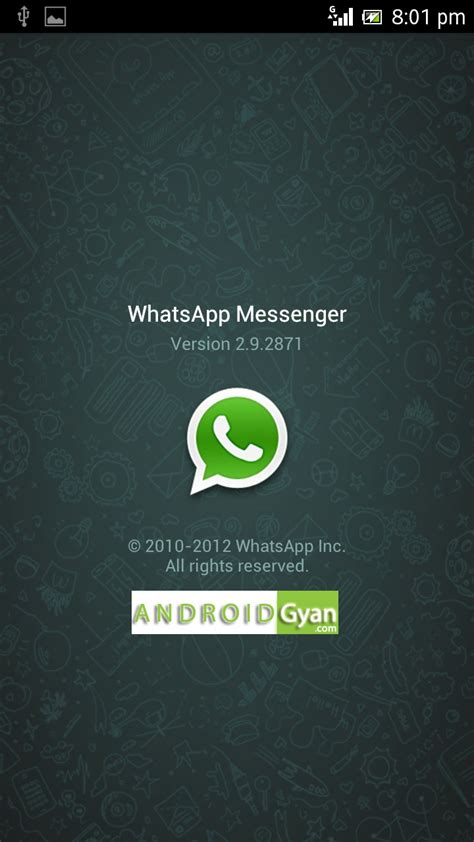 whatsapp android whatsapp for android 2 2 and 2 3 6