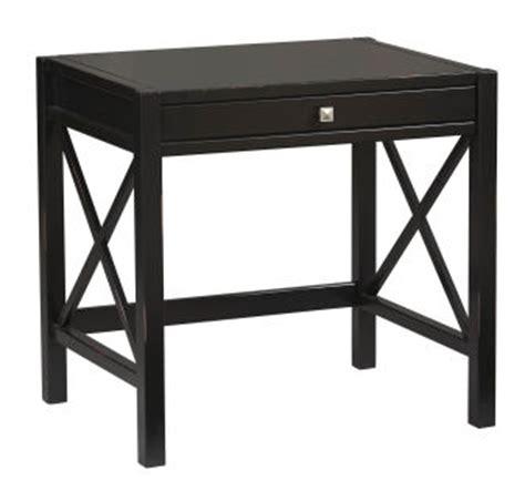Small Black Glass Desk Traditional Desks Small Black Glass Desk Homebase