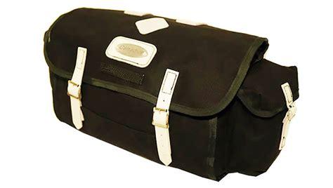 Carradice City Folder M Bag Black White Straps nelson used