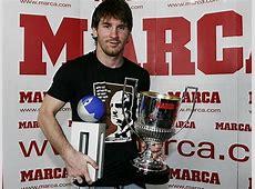 Barcelona Star Lionel Messi Wins Trofeo Pichichi & Premi ... Goal.com Football Results