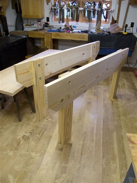 knockdown nicholson workbench day  woodworking