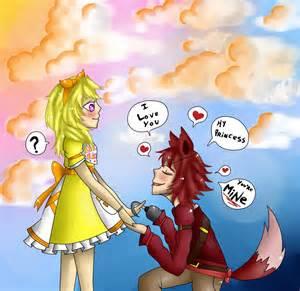 You are mine foxy x chica by shoppet sky on deviantart