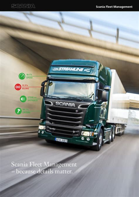 fleet management portal by scania great britain limited