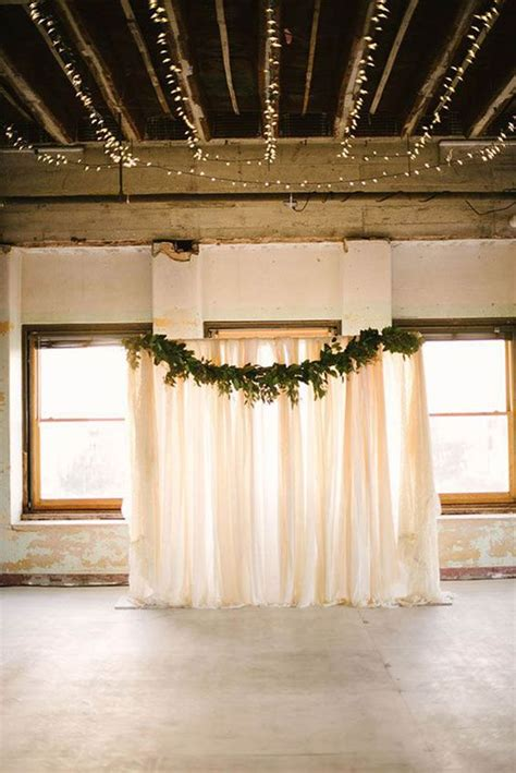 Easy Wedding Backdrop by Beautiful And Easy Diy Wedding Backdrops Weddinginclude